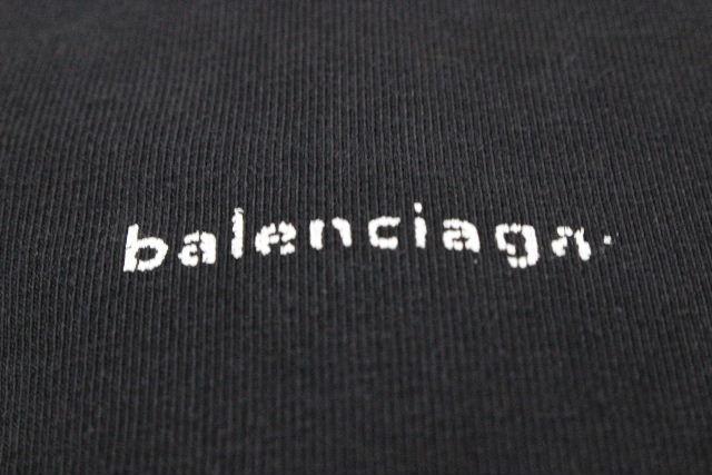バレンシアガ [ BALENCIAGA ] ロング プルオーバー カットソー ブラック 黒 SIZE[XS] レディース チュニック