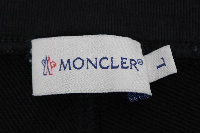 モンクレール [ MONCLER ] トリコロール スエットパンツ ブラック 黒 SIZE[L] メンズ テーパード パンツ ボトムス ジャージ