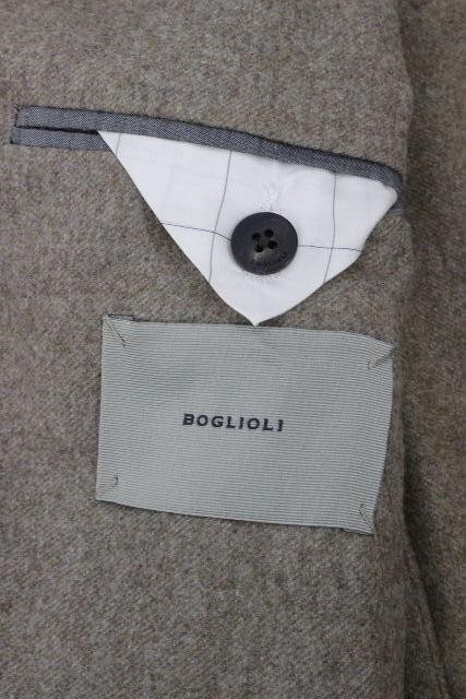 ボリオリ [ BOGLIOLI ] 3B ウール セットアップ スーツ ベージュ DOVER SIZE[46] メンズ シングルジャケット スラックスパンツ