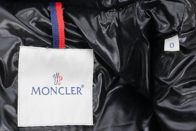 モンクレール [ MONCLER ] ダウンベスト ブラック 黒 TIB SIZE[0] メンズ アウター ダウンジャケット ティブ チブ チヴ