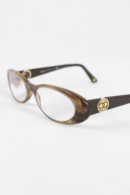 シャネル [ CHANEL ] 2WAY ココマーク 眼鏡フレーム ブラウン系 [ 3156 1101 ] レディース めがね メガネ サングラス