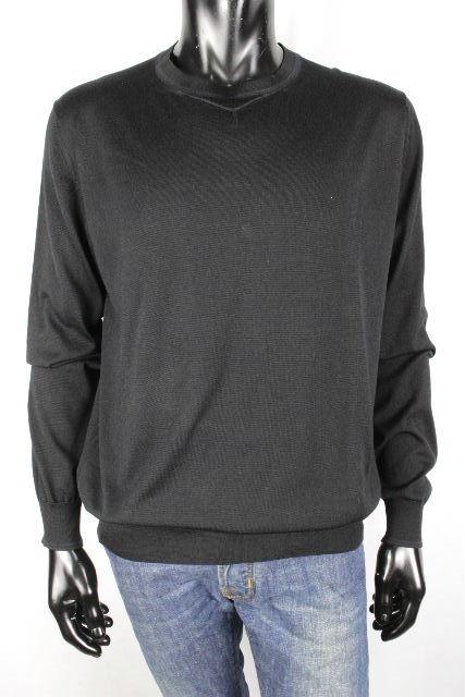 エルメス [ HERMES ] ニット セーター ブラック 黒 長袖 SIZE[XL] メンズ トップス プルオーバー カットソー