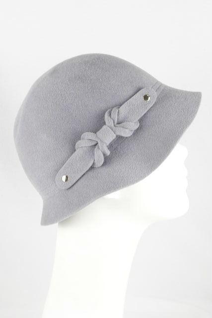 ヘレンカミンスキー [ HELEN KAMINSKI ] フェルト系 リボン 帽子 グレー Murano レディース ヘレン ハット 帽