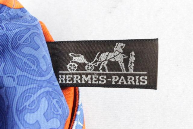 エルメス [ HERMES ] シルク スカーフ ポーチ フールビ25 バッグインポーチ バッグインバッグ