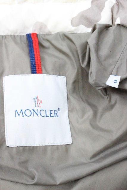 モンクレール [ MONCLER ] カモフラ フード ダウンジャケット CHIMAY シメイ SIZE[0] メンズ アウター カモフラージュ パーカー 迷惑柄