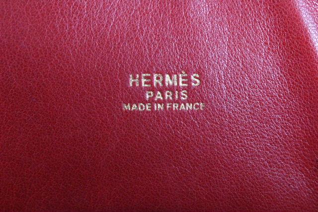エルメス [ HERMES ] ボリード35 トゴ レッド ゴールド金具 [N刻印] レディース ハンドバッグ ボリード37