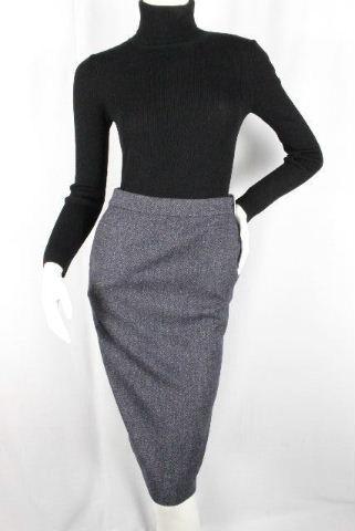 エルメス [ HERMES ] マルジェラ期 カシミヤ混 ベルト ウールスカート SIZE[34] レディース ボトムス スカート