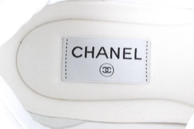 シャネル [ CHANEL ] ダットスニーカー ホワイト 白 G33745 SIZE[23.5] レディース シューズ スニーカー