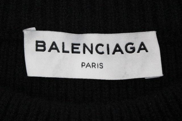 バレンシアガ [ BALENCIAGA ] 17AW オーバーサイズ カシミヤ リボン ニット セーター SIZE[38] レディース プルオーバー トップス