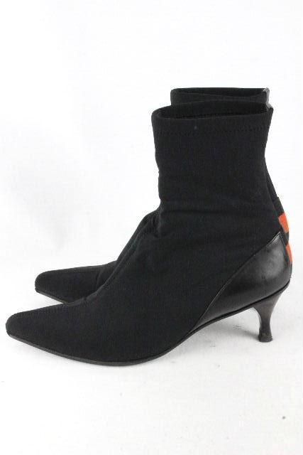 グッチ [ GUCCI ] シェリーライン ソックス ショートブーツ SIZE[23.5~24cm相当] レディース パンプス スニーカー ブーツ
