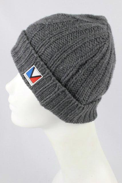 ルイヴィトン [ LOUISVUITTON ] ガストンV ニット帽子 グレー メンズ レディース ヴィトン ビトン ニット帽 帽