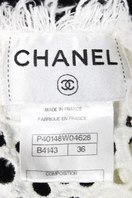 シャネル [ CHANEL ] ココマーク レース ワンピース ホワイト 白 P40148 SIZE[36] レディース ワンピ チュニック
