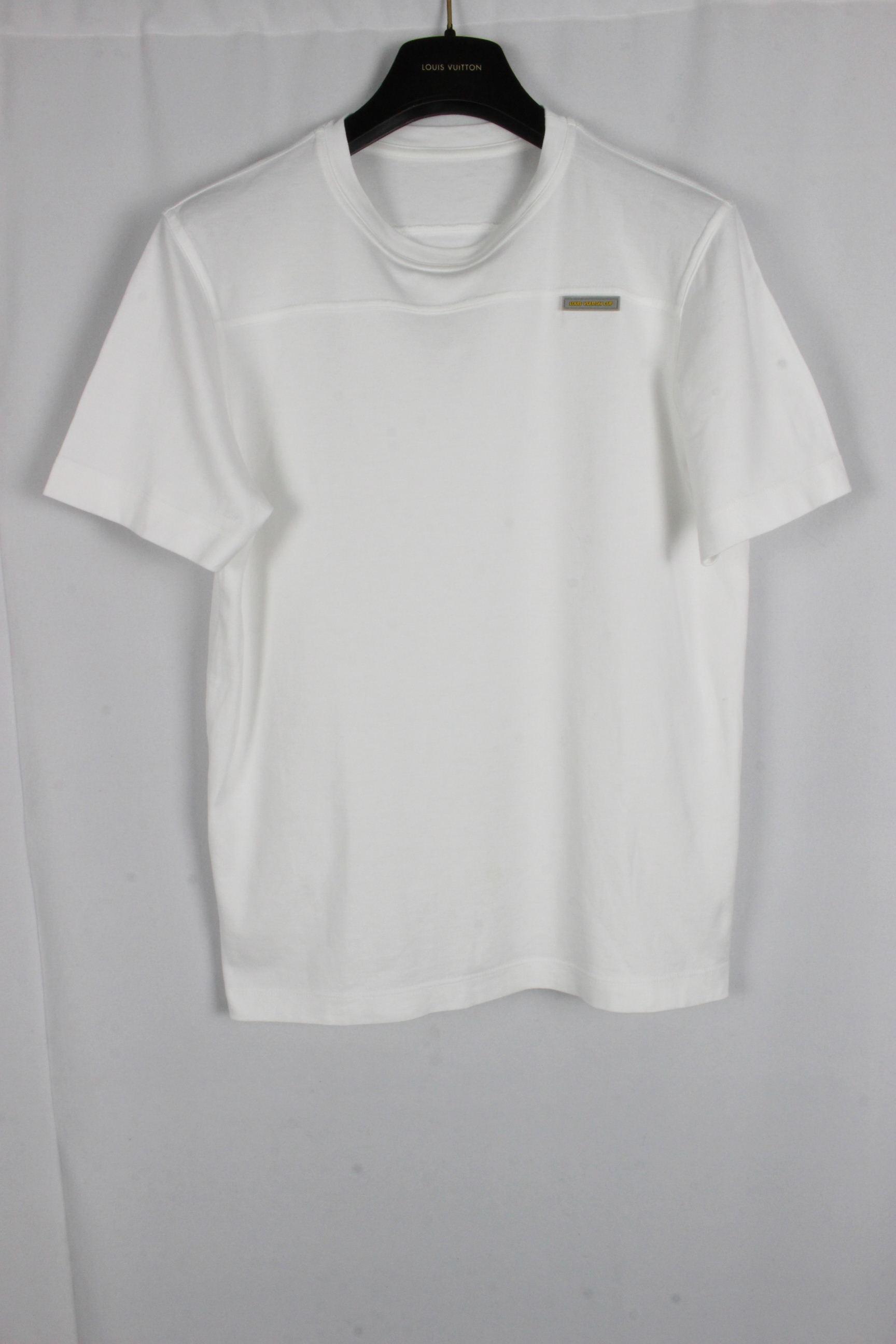 ルイヴィトン [ LOUISVUITTON ] ヴィトンカップ カットソー ホワイト 白 半袖 SIZE[M相当] メンズ ビトン トップス Tシャツ