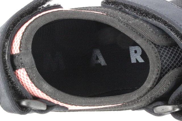 マルニ [ MARNI ] ベルクロ メッシュ スニーカー SCARPA SNZWV04G02 SIZE[38] レディース ローカット ブラック 黒