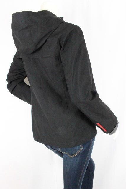 プラダスポーツ [ PRADA ] GORETEX ナイロン系ブルゾン パーカー ブラック SIZE[40] レディース プラダ ゴアテック ジャンパー ジャンバー ジャケット