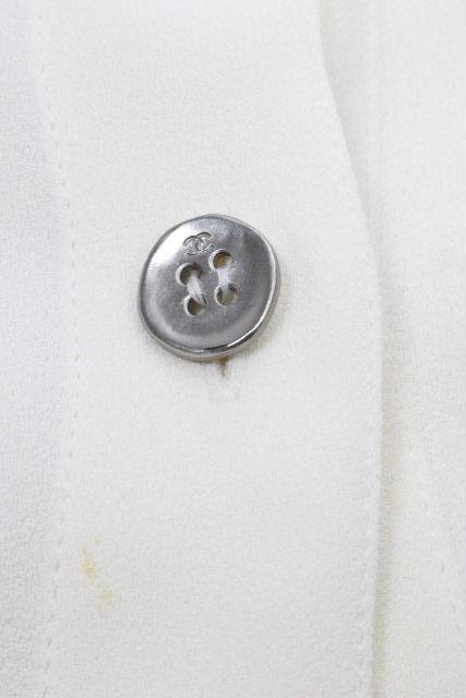 シャネル [ CHANEL ] 98P ノースリーブ ロング ブラウス オフホワイト SIZE[36] レディース トップス ノースリ シャツ ジャケット P10826