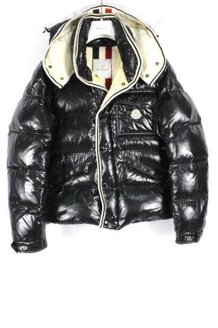 モンクレール ブランソン シャイニーブラック 黒 SIZE[2] メンズ フード ダウンジャケット ダウン パーカー トムブラウン