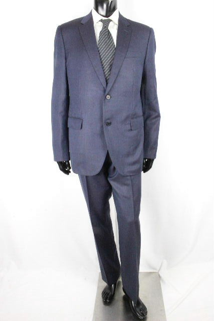 ルイヴィトン [ LOUISVUITTON ] 2B 裏地ダミエ セットアップ スーツ ネイビー 紺色 SIZE[54] メンズ ヴィトン ビトン シングルジャケット パンツ