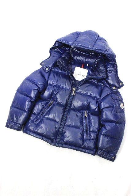 モンクレール [ MONCLER ] キッズ フード ダウンジャケット MAYA マヤ SIZE[4anni 104cm] 子供用 男の子 ブルゾン パーカー ジャンパー ジャンバー