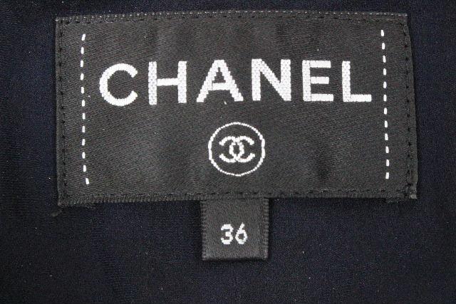 シャネル [ CHANEL ] P54 コレクションライン リボン レース ドレス P54395 SIZE[36] レディース ワンピース ワンピ ブラック 黒