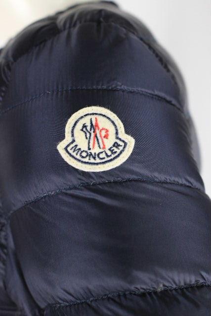 モンクレール [ MONCLER ] ノーカラー ライトダウン ジャケット ネイビー ENFANT [00相当] レディース モンクレ アウター ブルゾン ジャンパー