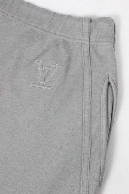 ルイヴィトン [ LOUISVUITTON ] LVロゴ イージーパンツ グレー SIZE[XL] メンズ ヴィトン ビトン リラックスパンツ ワイドパンツ