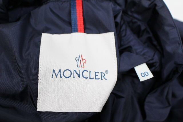 モンクレール [ MONCLER ] ナイロン スプリングコート LOTY ネイビー 紺色 SIZE[00] レディース アウター パーカー フレアー コート ジャケット