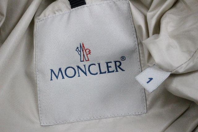 モンクレール [ MONCLER ] フローラル刺繍 ダウンジャケット PANACHE SIZE[1] レディース アウター ダウンコート