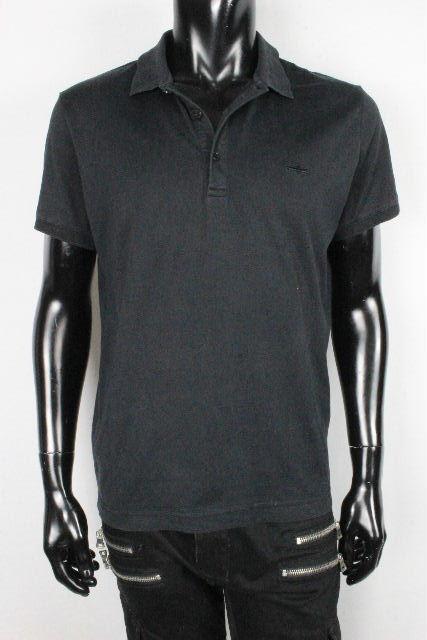 ディオールオム [ Dior ] BEE ポロシャツ ブラック 黒 半袖 SIZE[48] メンズ ディオール トップス カットソー Tシャツ ハチ ビー