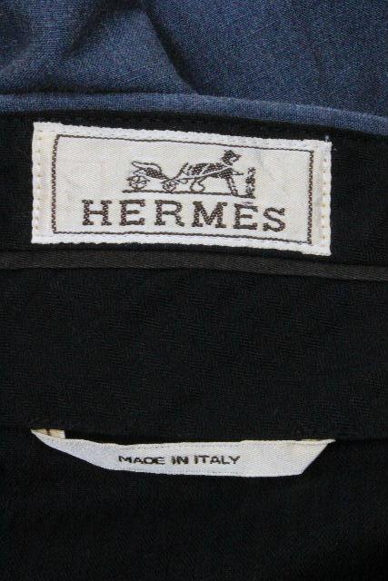 エルメス [ HERMES ] セリエボタンリネン カジュアルパンツ SIZE[40] メンズ ボトムス パンツ 麻