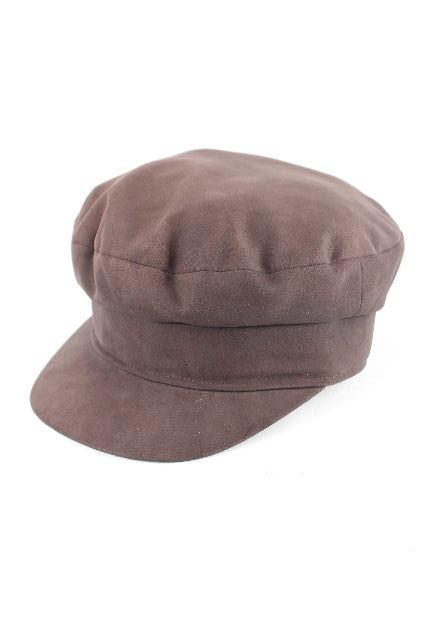 エルメス [ HERMES ] キャスケット帽子 ブラウン 茶色 SIZE[56]