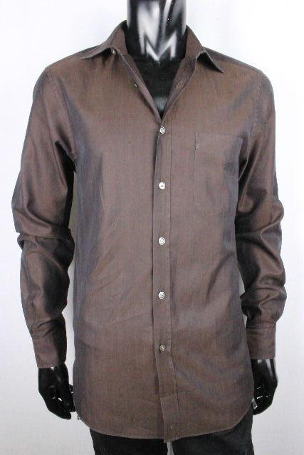 ルイヴィトン [ LOUISVUITTON ] LVロゴ カッターシャツ ヴィトンブラウン 長袖 SIZE[38] メンズ ヴィトン ビトン ワイシャツ シャツ