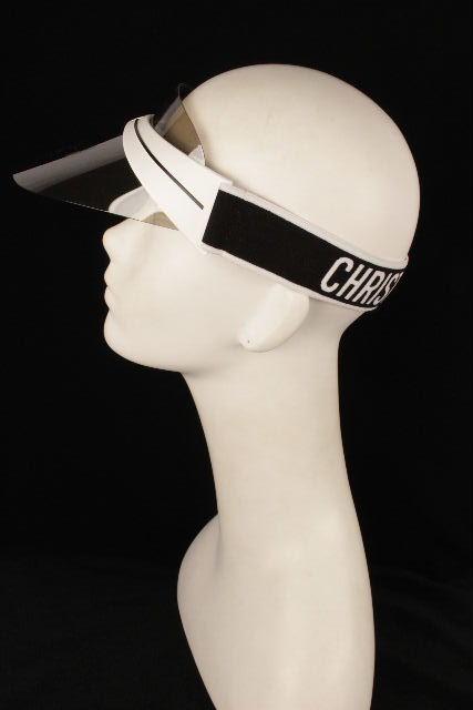 クリスチャンディオール [ ChristianDior ] JADIOR ジャドレ サンバイザー 付属品完備 レディース ディオール メンズ キャップ 帽子