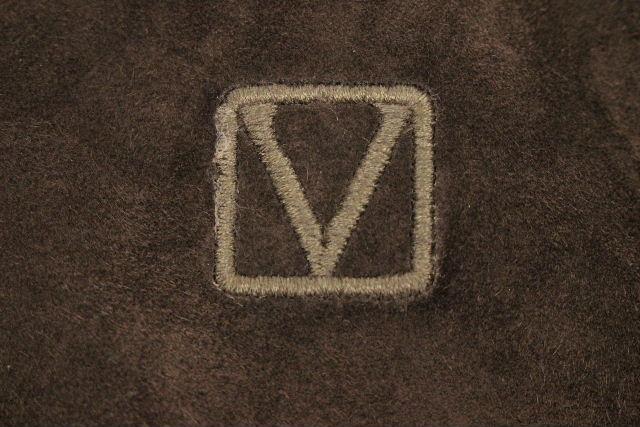 ルイヴィトン [ LOUISVUITTON ] ガストンV スエード カシミヤ ニット パーカー SIZE[XS] メンズ ヴィトン ビトン セーター パーカ