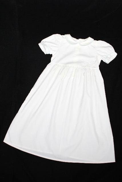 エルメス [ HERMES ] キッズ ドレス ワンピース ホワイト 白 SIZE[2 85~94cm相当] 子供用 女の子 フレアー ワンピ