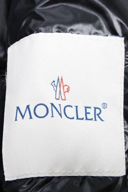 モンクレール [ MONCLER ] ダウンベスト ブラック 黒 GUI GILET SIZE[1] メンズ アウター ダウンジャケット ベスト ジレ
