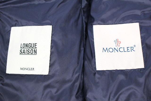 モンクレール [ MONCLER ] ノーカラー ダウンジャケット ドロテア DOROTEA SIZE[00相当] レディース アウター ネイビー 紺色 ショート丈 ライトダウン