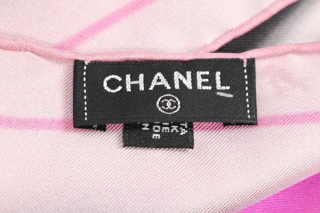 シャネル [ CHANEL ] ココマーク ロゴ 大判シルク スカーフ [90×90] レディース ストール ショール