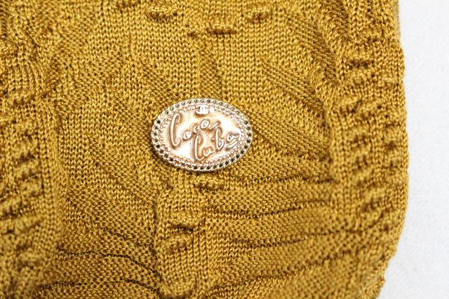 シャネル [ CHANEL ] プルオーバー ニット イエロー系 長袖 P55701 SIZE[36] レディース カットソー セーター トップス