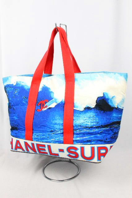 シャネル [ CHANEL ] トートバッグ ラージトートバッグ サーフライン メンズ レディーズ ショッピングバッグ SURF