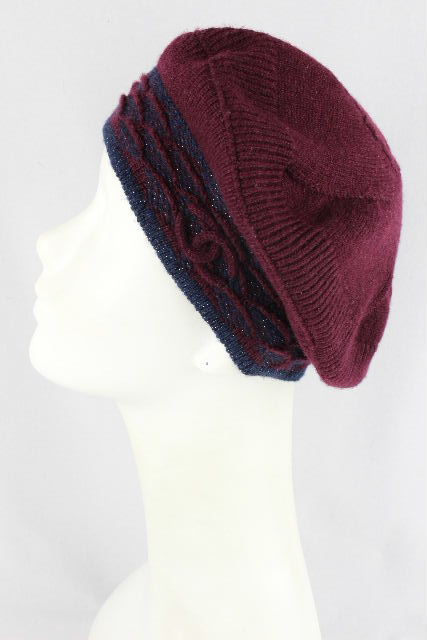 シャネル [ CHANEL ] ココマーク カシミヤ ベレー帽 レディース ニット帽 帽子 帽