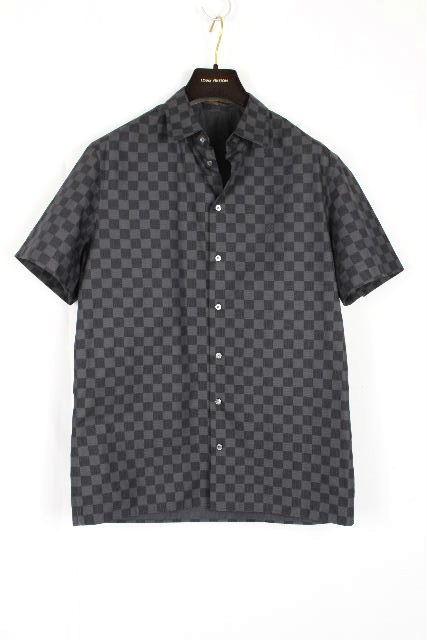 ルイヴィトン [ LOUISVUITTON ] ダミエグラフィット カジュアル シャツ 半袖 SIZE[S] メンズ ヴィトン ビトン ダミエ トップス